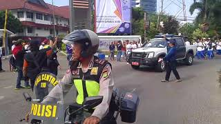 Download Video Festival Pawai Replika Obor ASIAN GAMES  2018 Kelurahan Srengseng Sawah MP3 3GP MP4
