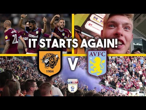 NEW SEASON, SAME PROBLEMS! - HULL VS ASTON VILLA HOME VLOG!