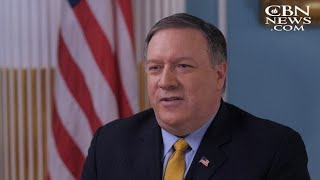 CBN News EXCLUSIVE: Pompeo Says US Will Not Send Americans to Be Interrogated by Russia