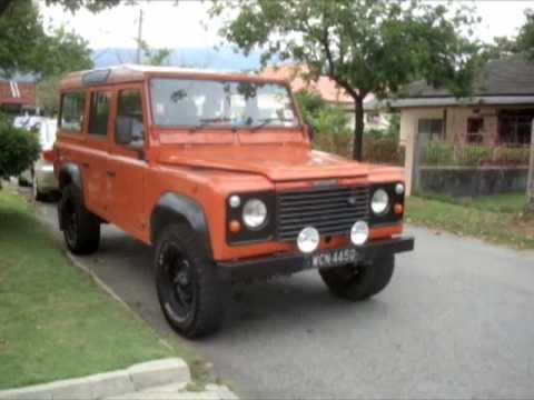 1991 land rover defender 110 200tdi start-up and full vehicle tour