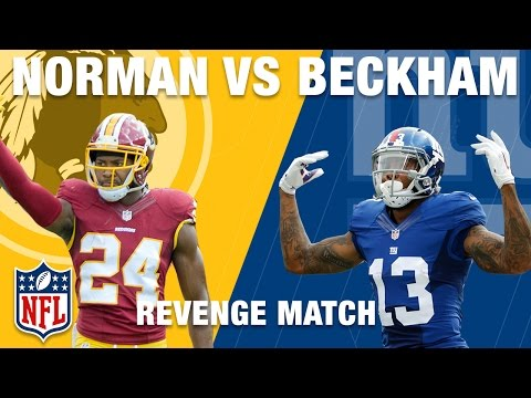 Josh Norman vs. Odell Beckham Jr.: Revenge Match of the Week | Redskins vs. Giants | NFL