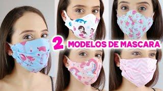 Mascara de Proteção em Tecido Molde Grátis