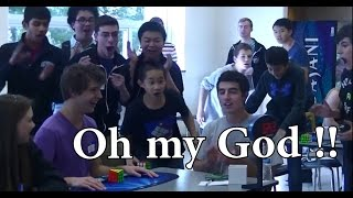 Teenager Beats Rubik's Cube World Record In 5.25 Seconds . Best Ever New 2015