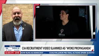 Jonathan T Gilliam on Newsmax discussing the leftist CIA recruitment video