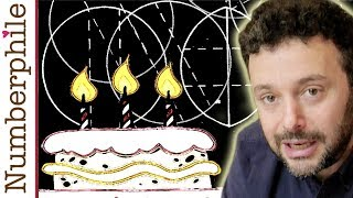 The Scientific Way to Cut a Cake - Numberphile thumbnail