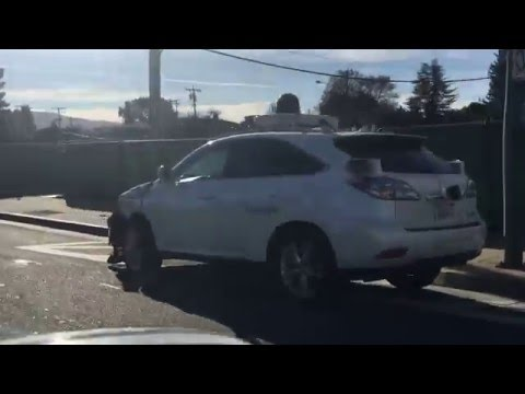 Google Self Driving Car first at fault accident minor damage
