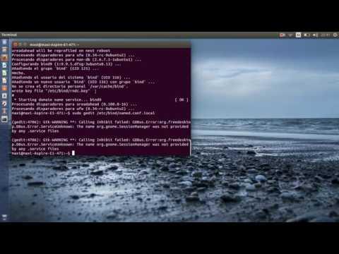Instalacion de un servidor de correo en Ubuntu con Squirrelmail