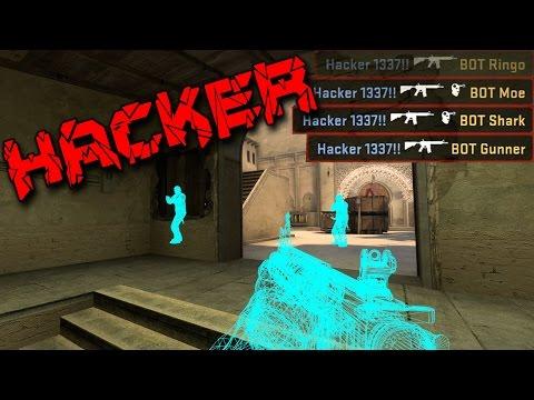Hacker!! Lirar med en fuskare, INGEN CLICKBAIT!!