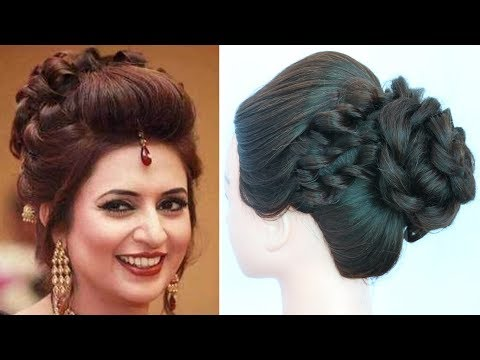 celebrity hairstyles || divyanka tripathi hairstyle || messy bun || wedding hairstyles || hairstyle
