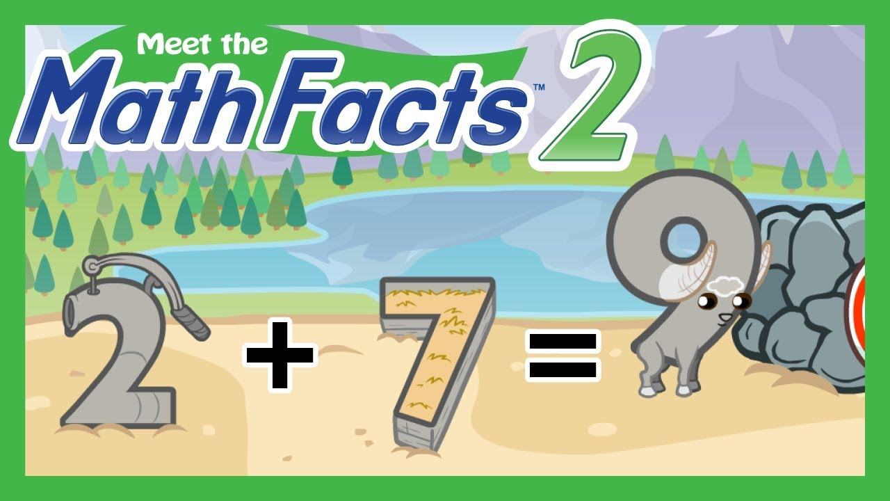 Meet the Math Facts Level 2 - 2+7=9 - YouTube
