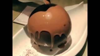 Melting Chocolate Dessert with Ice Cream Inside!