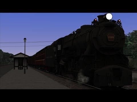 Train Simulator Horseshoe Curve Scenario Pack 1: PRR K4 - 5: PRR Mail Train 18