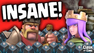 "Clash of Clans ""Heroes Behaving Badly"" Royal Antics in Clash!"