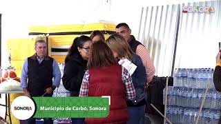 Seguimos con la gira de trabajo y apoyos desde el municipio de #Carbó ✅