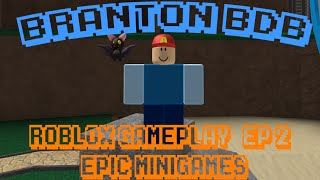 ROBLOX GamePlay | EP 2 | Epic Minigames