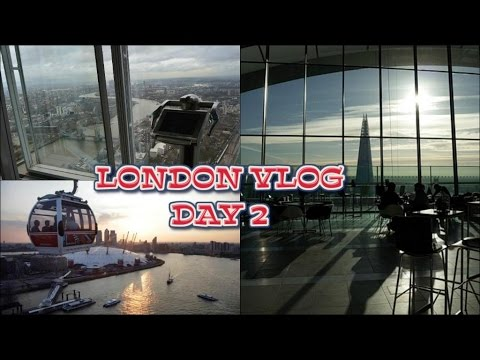 LONDON VLOG / DAY 2 /  Top Of The Shard,Sky Garden & Abbey Road