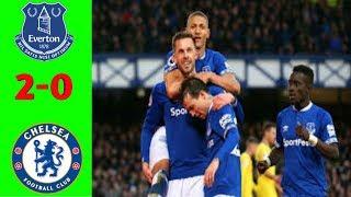 Everton vs chelsea (2-0)!!! Hasil liga ingris all goal.
