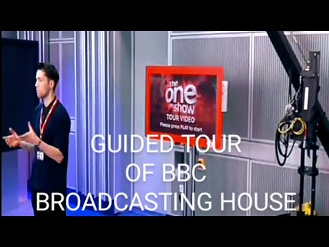 London, BBC Broadcasting House: a video tour
