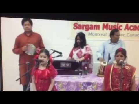 Sargam music academy Montreal Rumana-Sukanna