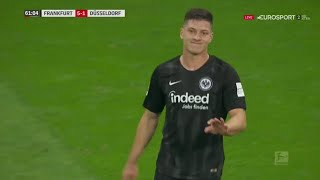 The Match That Made Real Madrid Buy Luka Jovic