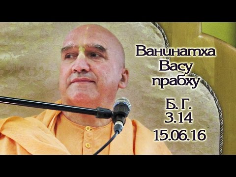 Бхагавад Гита 3.14 - Ванинатха Васу прабху