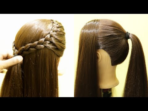 Simple Front French Braid Hairstyle | Doluble side french Braid | #FrenchBraid #Hairstyle #New thumbnail
