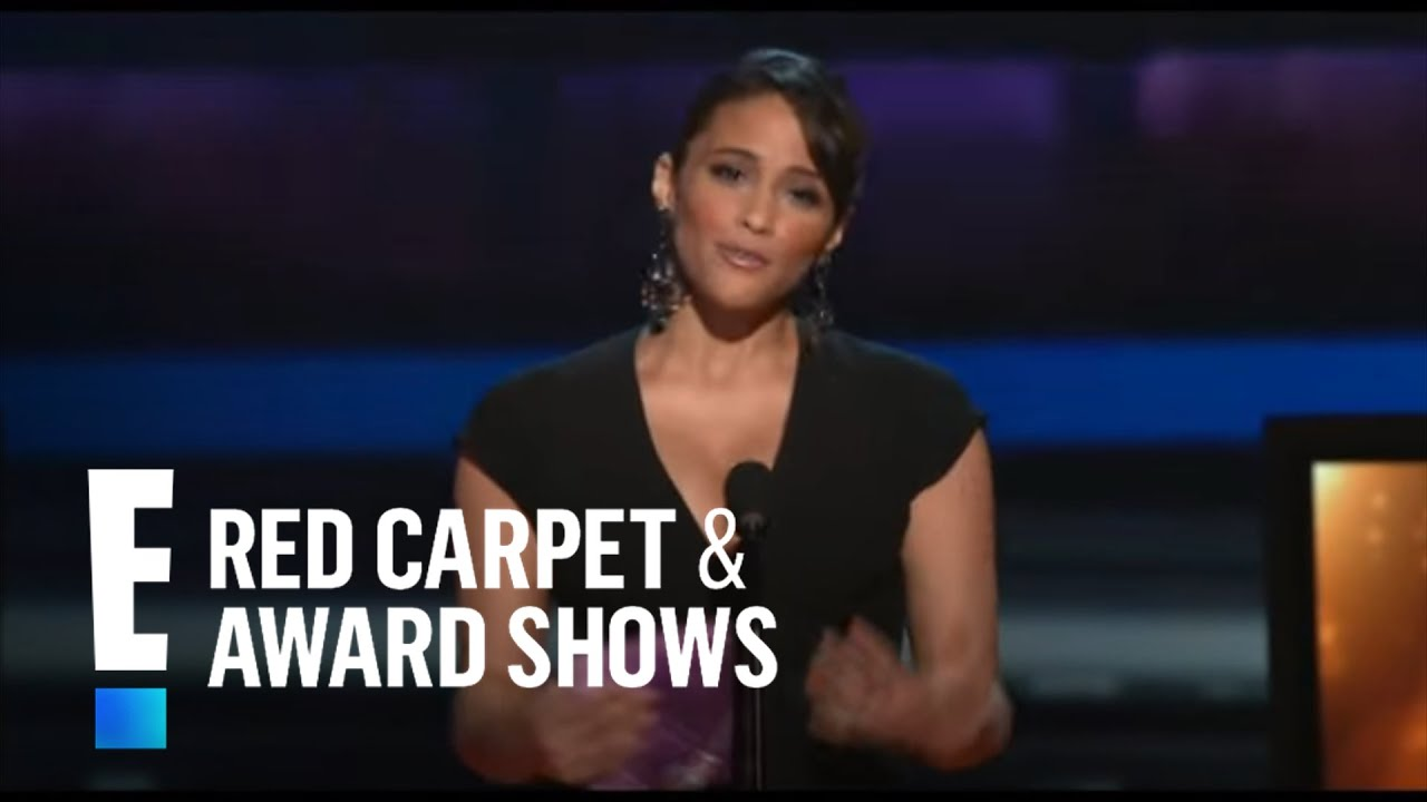 PCA 2010: Paula Patton presents nominees for Favorite TV Drama Actor | E! People's Choice Award