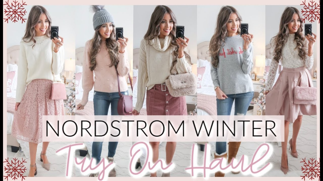 [VIDEO] - 15 WINTER OUTFIT IDEAS | NORDSTROM WINTER TRY ON HAUL 2019 5