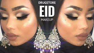 EID drugstore makeup tutorial   Sabina Hannan