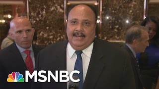 Martin Luther King III Recaps Meeting With Donald Trump | MSNBC