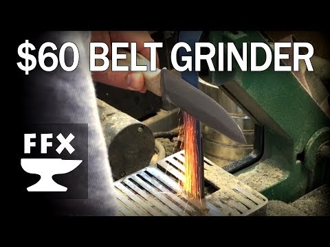 Review: $60 Harbor Freight Belt Grinder (1x30)