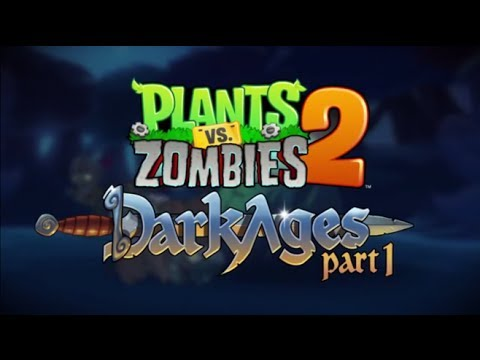 Plants vs. Zombies� 2 Dark Ages - iOS / Android - Walkthrough (Night 3)