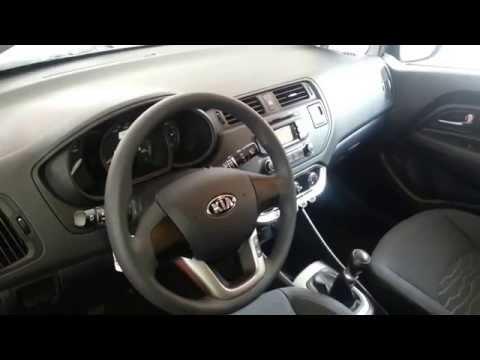 Interior Kia Rio Spice 2014 video versin Colombia