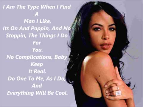 Aaliyah - I Gotcha' Back (Lyrics)