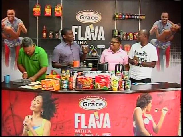 Grace & You Cooking Show   Grace Coconut Saute Conch