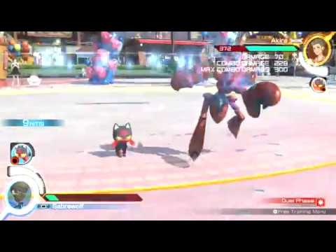 Pokken Tournament DX: Scizor Litten combo video - YouTube