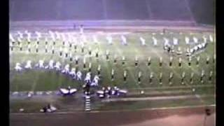Arcadia H.S. Marching Band @ 1989 Azusa Field Tournament