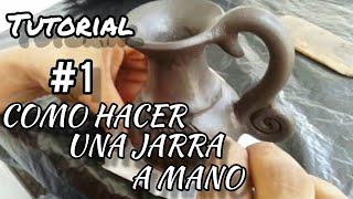 Jarras de Barro o arcilla, Parte #1 - artesanías en barro - alfareria, Cultura Zenú MOMIL