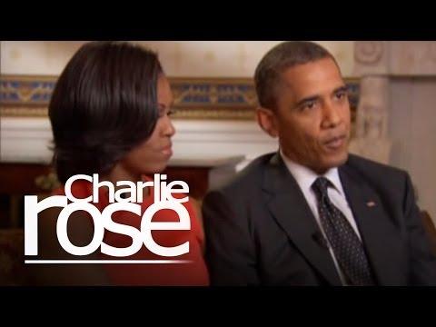 President Obama & First Lady Michelle Obama | Charlie Rose