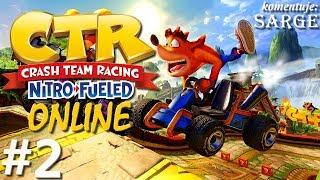 Crash Team Racing: Nitro-Fueled (Multiplayer #2) - Dziewczyny z Nitro Squad