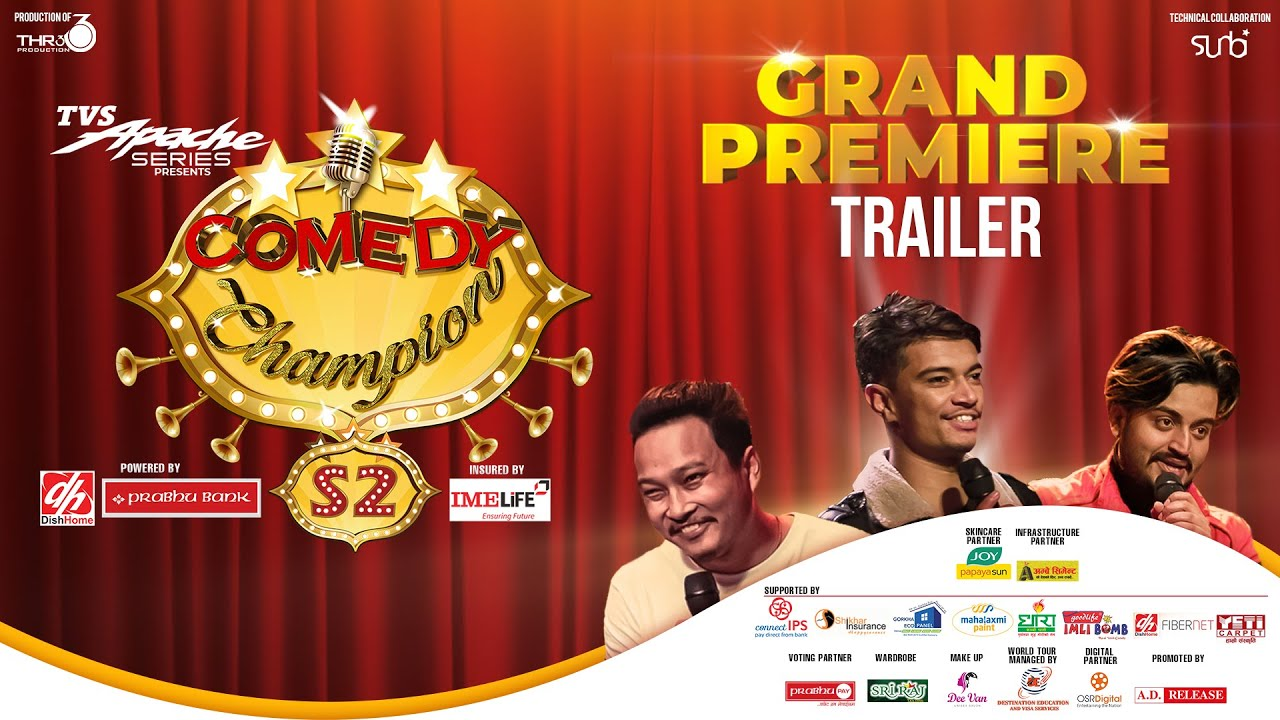Comedy Champion Season 2 || KAILASH KARKI || Grand Premiere Trailer