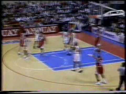 Commissioner's Cup 1996 Ginebra vs Alaska Part 1 of 9
