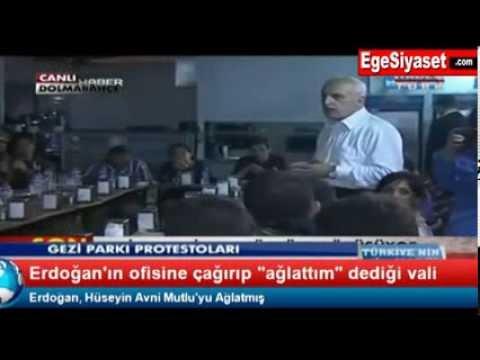 Erdoğan'ın Ofisine Çağırıp Ağlattığı Vali