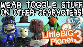LBP3 Glitch: Wear Toggle Costumes and Skins on All Characters!