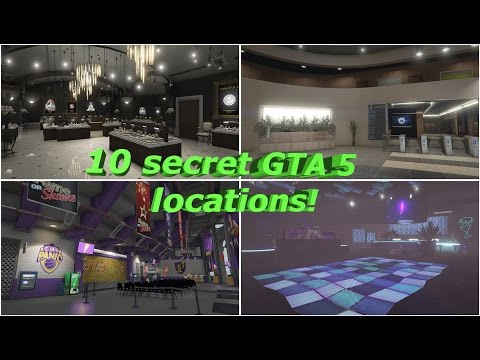 10 Secret Locations In Gta 5 Maze Bank Arena, FIB Building, More!