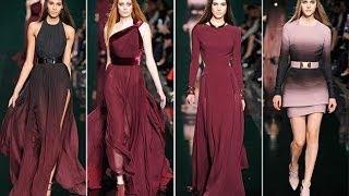 Elie Saab Fall 2014 - Paris Fashion Week RTW - Interviews & Runway | Videofashion