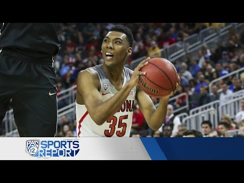 Highlights: Arizona men's basketball breaks away from Colorado, advances to semis