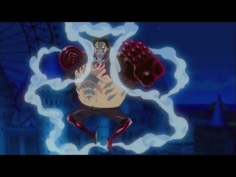 Luffy Gear 4 Fourth Vs Gild Tesoro One Piece Film Gold Hd Eng Sub