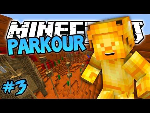 Minecraft: Golden Steve Parkour! Minecraft 1.8 (Blue Shell) Parkour Map! #3