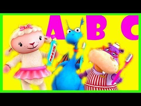 Doc McStuffins ABC Alphabet Song Coloring Pages Dottie ...